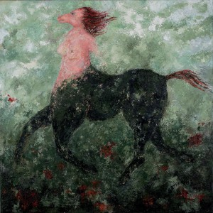 CENTAUR AND ROSES